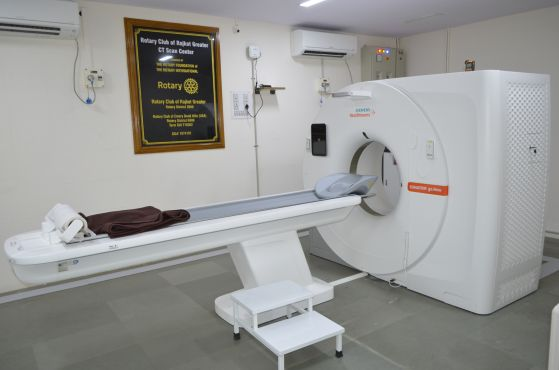 Commencement of CT Scan Machine