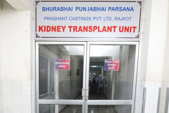 Commencement of Renal Transplant Department